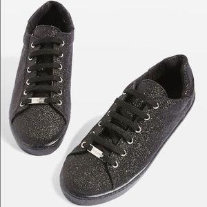 Topshop Glitter Sneaker